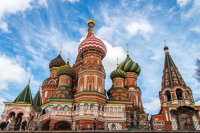 St. Basil Cathedral in Mosccow