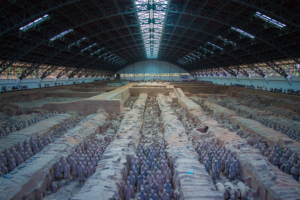 Xian Terracotta Warriors hall