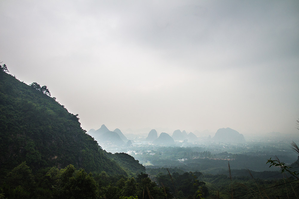 View from Yao Shan in Guilin