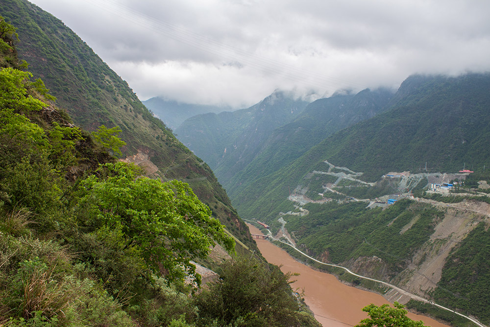 View at start of Tiger Leaping Gorge
