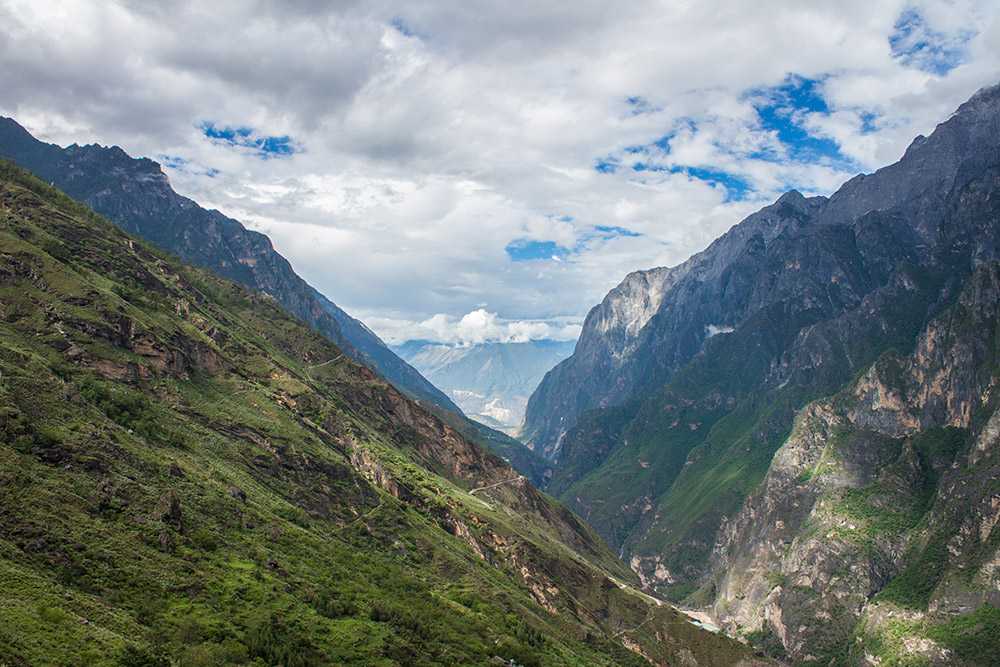 View on Tiger Leaping Gorge