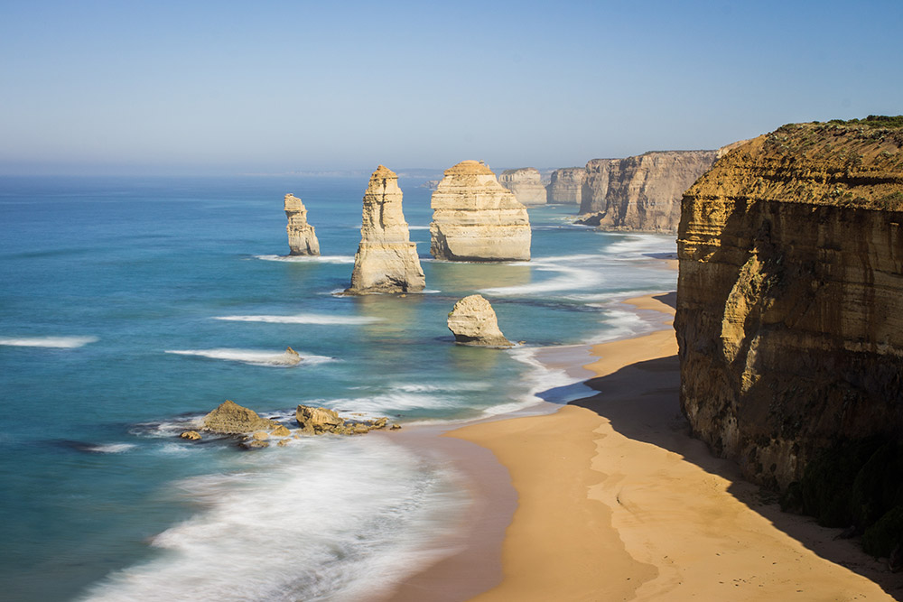 12 apostels at the Great Ocean Road