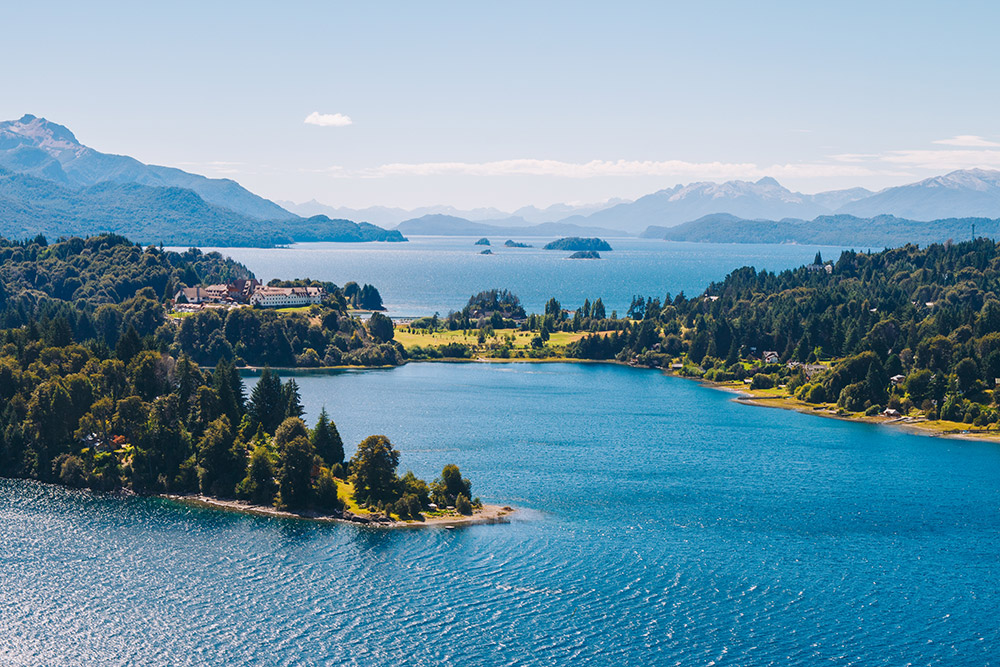 Lakes around Bariloche
